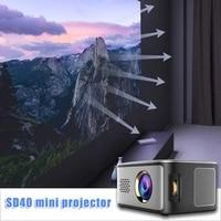Mini projecteur multimedia LED HD 1080P pour Home cinema   M23