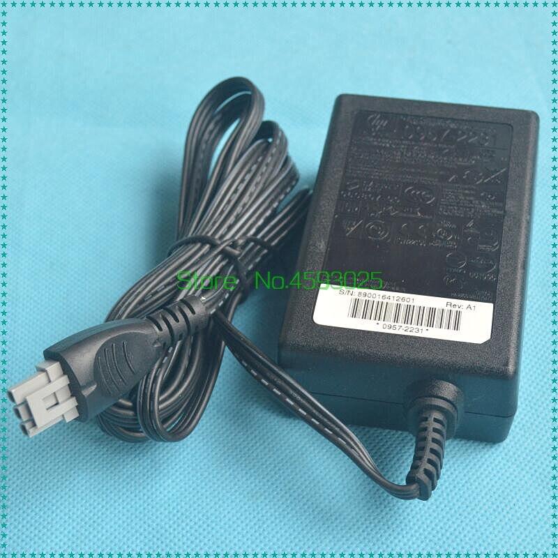 32V 375mA 16V 500mA AC cargador de adaptador de corriente 0957-2231 para HP D2468 D2568 C4288 F2128 F2188 impresora de alimentación