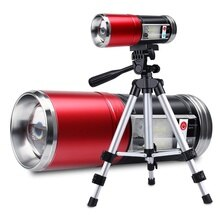 Super Bright Five-light Source Night Fishing Lamp Rechargeable Led Induction High-power Strong Light Laser Gun Bracket