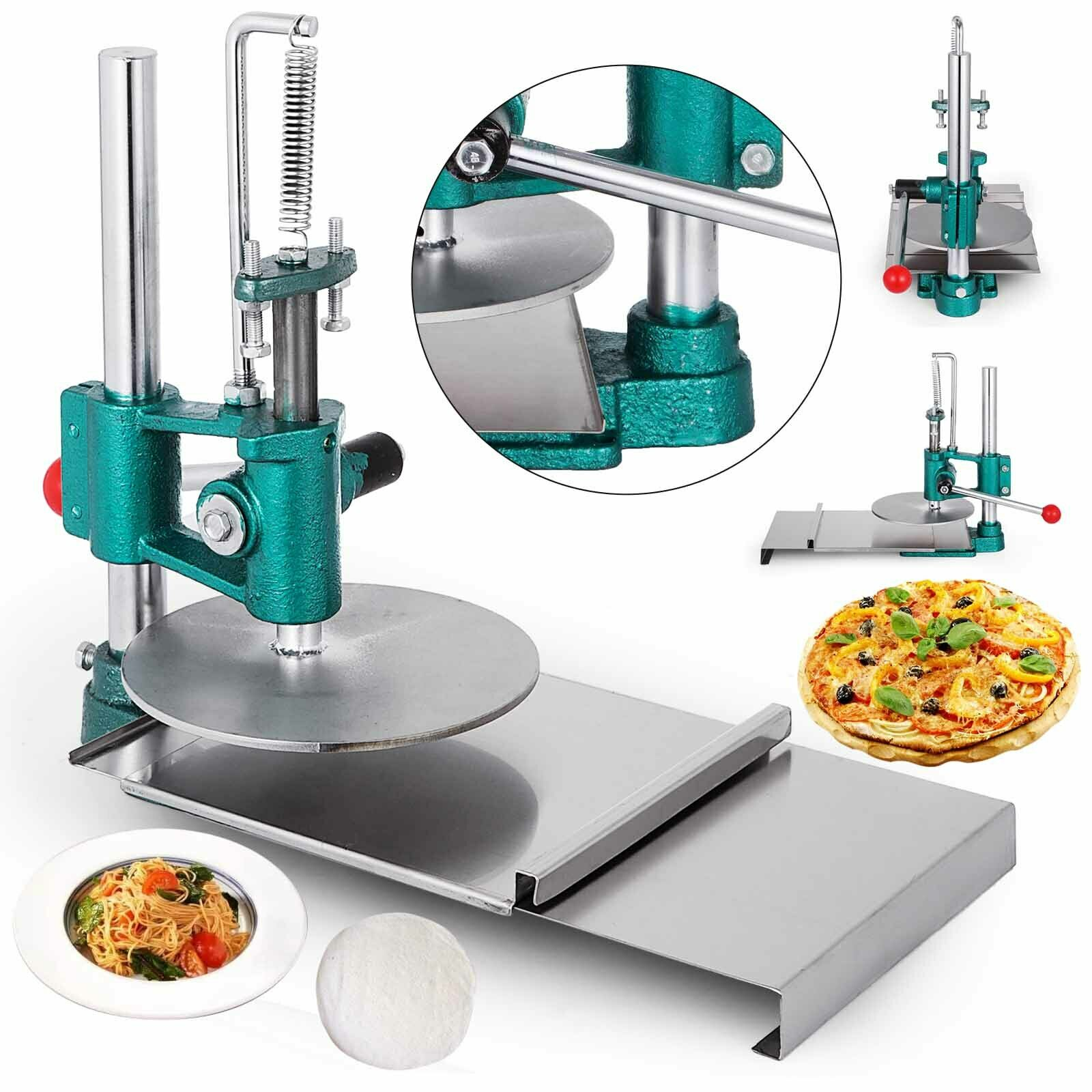 Новинка 7 8 дюймовая тесто для пиццы ручная пресс машина роликовая изготовления