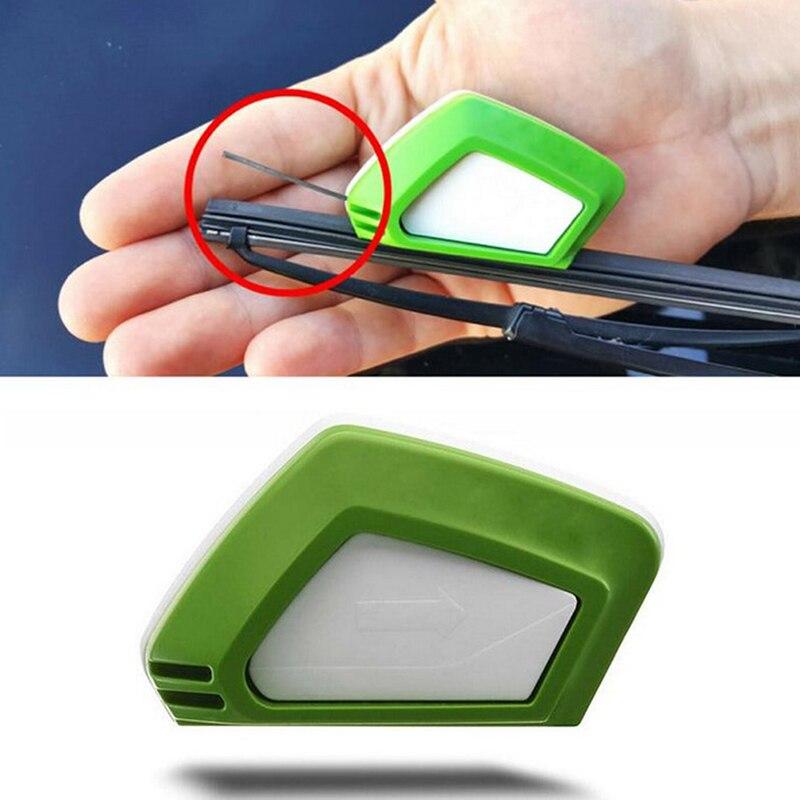 1 шт., резиновый резак для автомобильного стеклоочистителя, с губкой