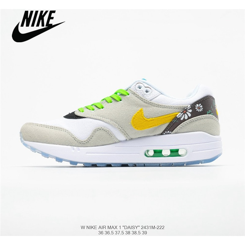 Nike Air Max 1 Daisy paquete transpirable zapatos de mujer corriendo tamaño 36-39