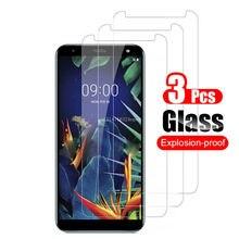 3 шт./лот закаленное Стекло Экран протектор для LG G6 G7 K40 Stylo 5 V20 V30 K10 2017 защитный Экран протектор