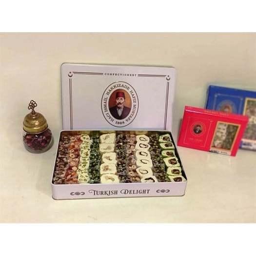 Hafiz Mustafa - Mixed Turkish Delight in Tin Box 1000 g hafiz gertrude lowthian bell the selected poems of hafiz
