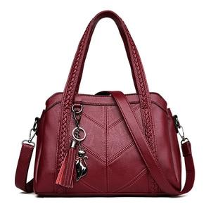2020 new Women Casual Tote Bags 2020 Female Handbag Large Big Shoulder Bag for Women Tote Ladies Vintage Leather Crossbody Bag