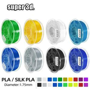 3D Printer Filament PLA/SILK PLA 1KG 1.75MM Overseas Warehouses Printing Materials plastic PLA Plus for 3d  printer 3D pen