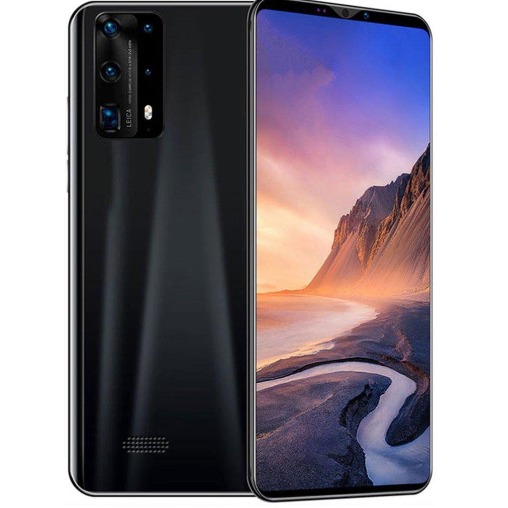 Dual-Core P40 Pro Smartphone 5 Zoll Bildschirm Smartphone 512M + 4G Android Smartphone 3D Glas Vergoldet zurück Abdeckung