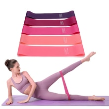 Portable Fitness Workout Equipment Rubber Resistance Bands Yoga Gym Elastic Gum Strength Pilates Cro