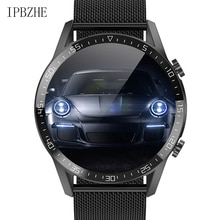 Ipbzhe Smart Watch Men 2021 Bluetooth Call Android Sports Blood Oxygen ECG SmartWatch Music Smart Wa