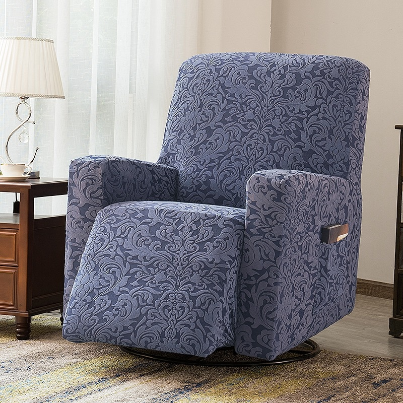 Funda de LICRA para Silla reclinable, sillón de un solo asiento, Jacquard,...