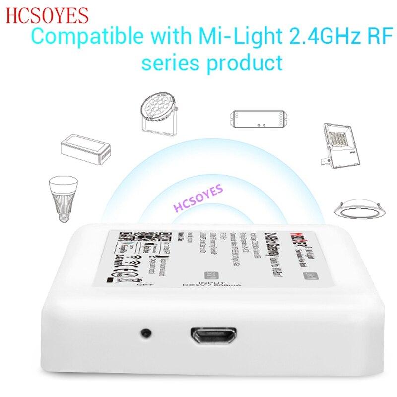 Milight WL-Box1 (ibox2 versão atualizada) controlador dc5v compatível inteligente lâmpada ibox ios/sistema andriod app sem fio contro