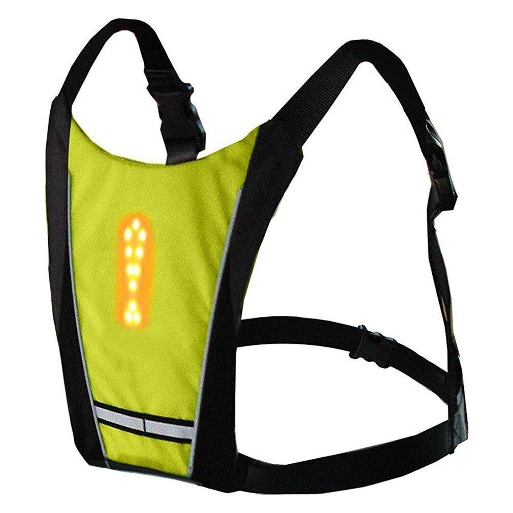 Wireless Remote Control Led Light-Emitting Warning Light Riding Bag Light-Emitting Bag Glow Ingenuous Vest No Logo