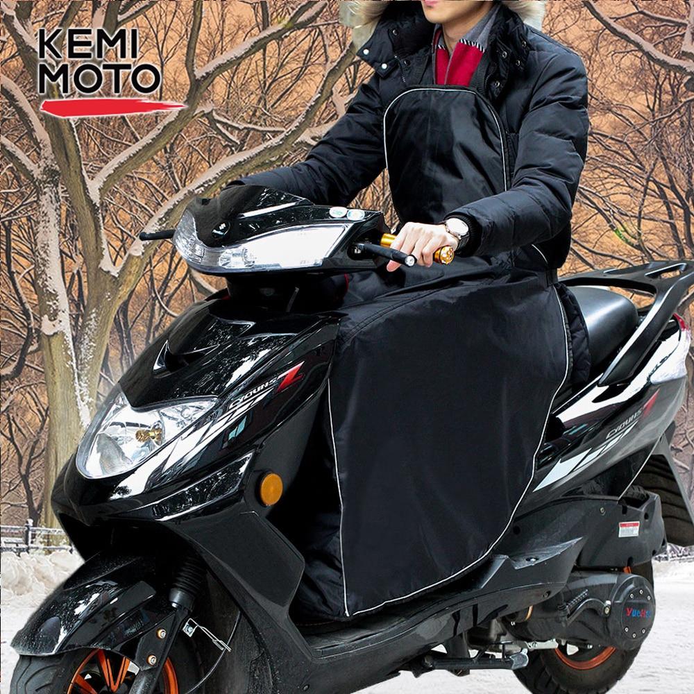 KEMiMOTO الدراجات البخارية غطاء الساق الركبة بطانية دفئا ل فيسبا GTS مقاوم للماء يندبروف دراجة نارية الشتاء لحاف لهوندا ل بيجو