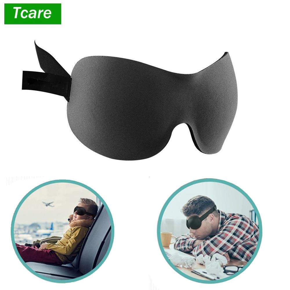 1Pcs 3D Sleep Eye Mask Shade Cover Memory Foam Sleeping Eye Patch Light Blocking, Perfect for Travel/Sleeping/Work Men Women