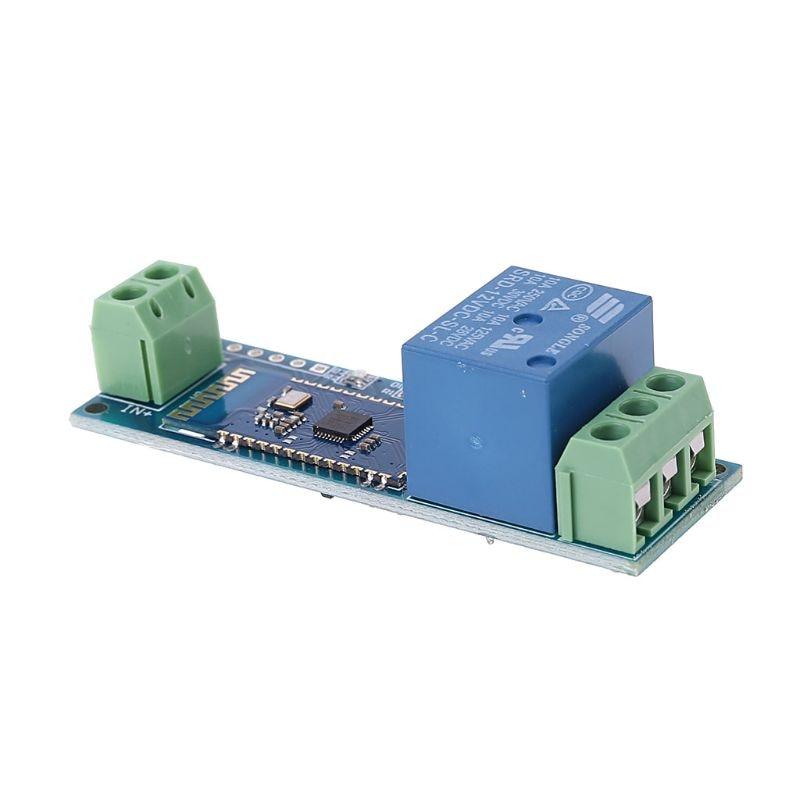 Умный Bluetooth релейный модуль пульт дистанционного управления Переключатель Мобильного Телефона DC 12V беспроводной релейный модуль компонент
