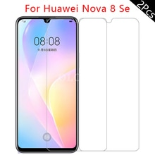 3 Pcs Screen Protector For Huawei Nova 8 SE 8se Mobile Phone Accessories Tempered Glass Film For Hua