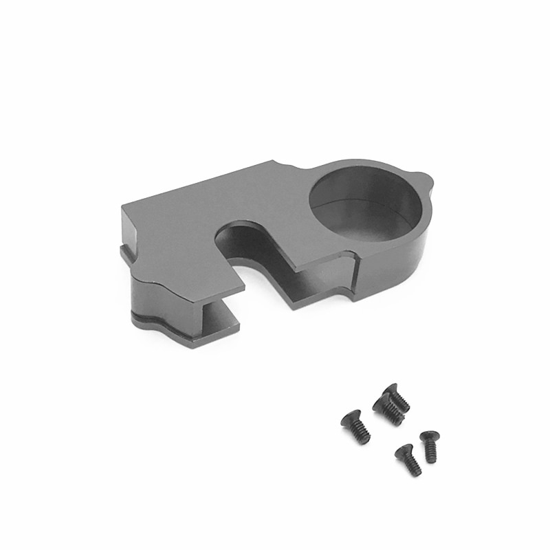Metal Reduction Gear Cover Dust Cover for Wltoys 124018 124019 1/12 RC Car Upgrade Parts Accessories enlarge