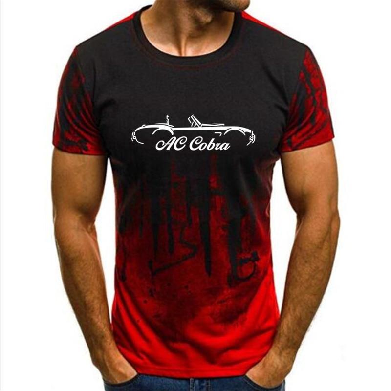 Camiseta con gradiente de S-4XL para hombres, camisa de tinta para AC...