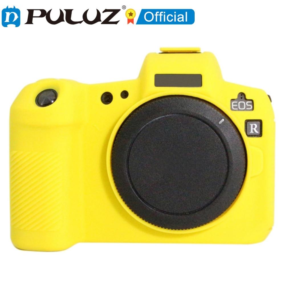 2021 nueva marca PULUZ-funda protectora de silicona suave para cmara Canon EOS...
