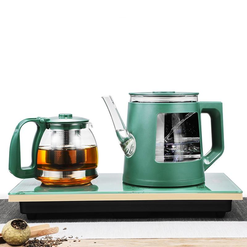 غلاية كهربائية منزلية التلقائي أسفل غلاية المياه حقن المياه طاولة القهوة طقم شاي متكامل طباخ التعريفي