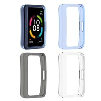 smart bracelet tpu case for honor band 6 scratch proof shockproof smartwatch protective cover frame bumper shell accessories