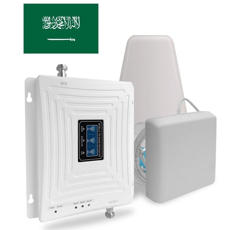 Communication Antenna 4g Cellular Booster 3g 4g Repeater Gsm Amplifier Antenna 70dB Saudi Arabia