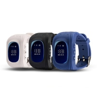 Q50 GPS חכם תינוק טלפון שעון Q50 ילדים ילד ילד ילדים שעוני יד GSM GPRS GPS Locator גשש אנטי אבוד smartwatch שעון
