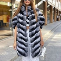 80cm long real rex rabbit fur coat outwear winter fashion women full pelt genuine rex rabbit fur coats 2021 luxury fur overcoats