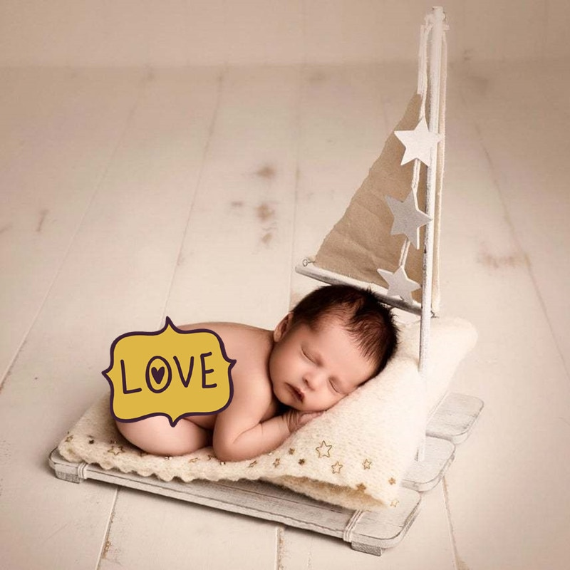 Newborn Photography Props  Furniture Chair Basket  Bunk Bed Accessories Baby Photography Studio Accessories