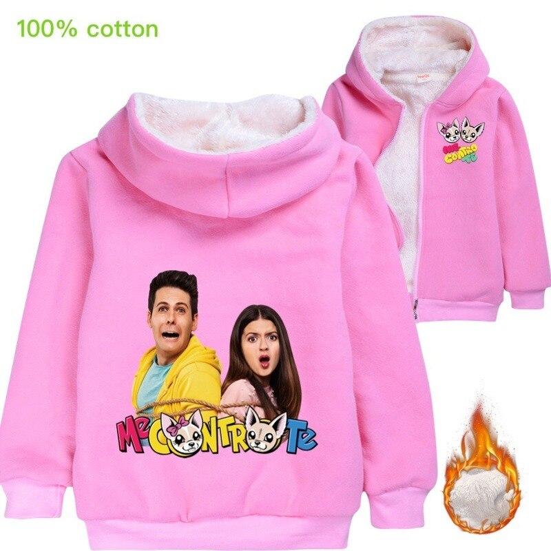 Traje de invierno para niños ropa de algodón de dibujos animados Me Contro Te Hoodies niño niña ropa sudaderas