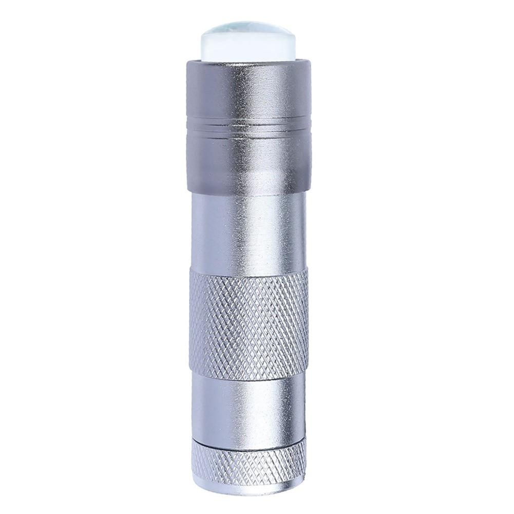 Lampada UV portatile per Nail Art UV Press Light con gelatina Silicone Stamper Head Nail Art Stamp Polish Print Quick Dry Lamp