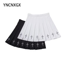 Diablo Women Pleated Skirt Skirt Stretch Skirt Plaid Skirt Mini Cute Japanese School Uniform Lady