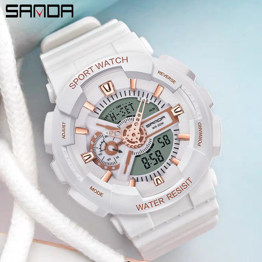 Nuevo G estilo militar Shock hombres relojes MS reloj deportivo LED Digital impermeable reloj Casual parejas reloj relojes masculino