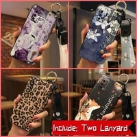 phone holder waterproof phone case for vivo iqoo z1x 5g soft case lanyard dirt resistant wrist strap