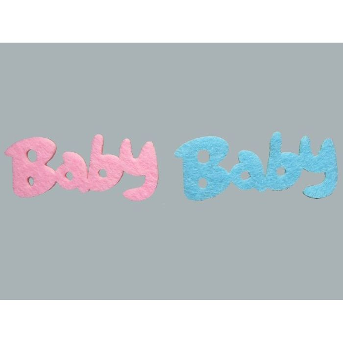 Cici Rosa bebé ornamento de fieltro-10lu