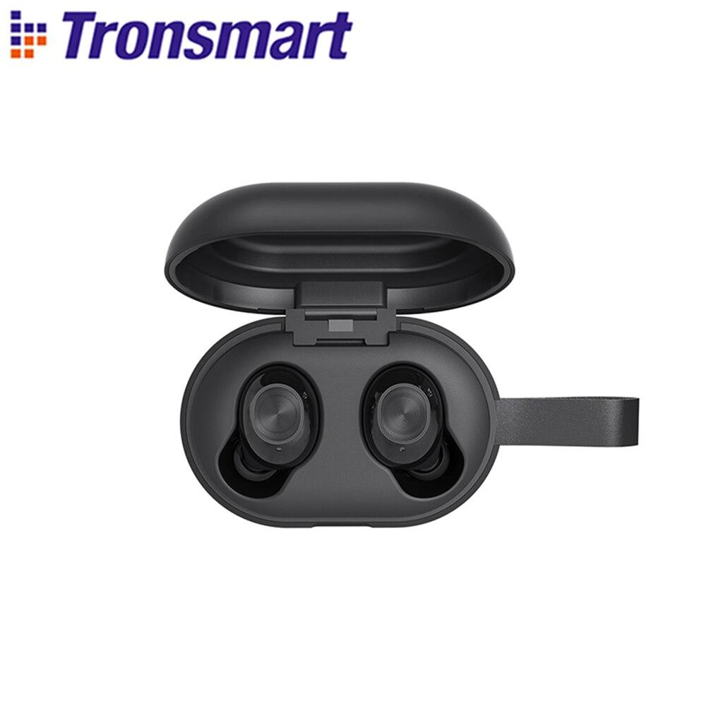 Tronsmart Spunky Beat شجاع فوز صحيح اللاسلكية ستيريو بلوتوث سماعة APTX سماعات لاسلكية مع QualcommChip ، سي 8.0 ، التحكم باللمس