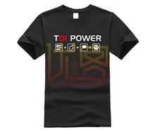 T Shirt Style été siège rigolo TDI POWER LEON IBIZA CUPRA T Shirt T Shirt Tuning Tee Shirt