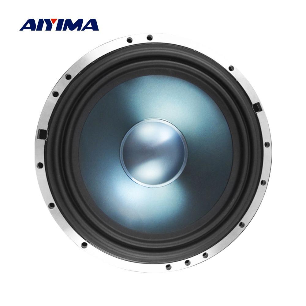 AIYIMA 1Pc 6.5 Inch Midrange Bass Car Speaker Bass 4 Ohm 300W Aluminum Woofer Loudspeaker for Car Audio Modified HIFI Speaker