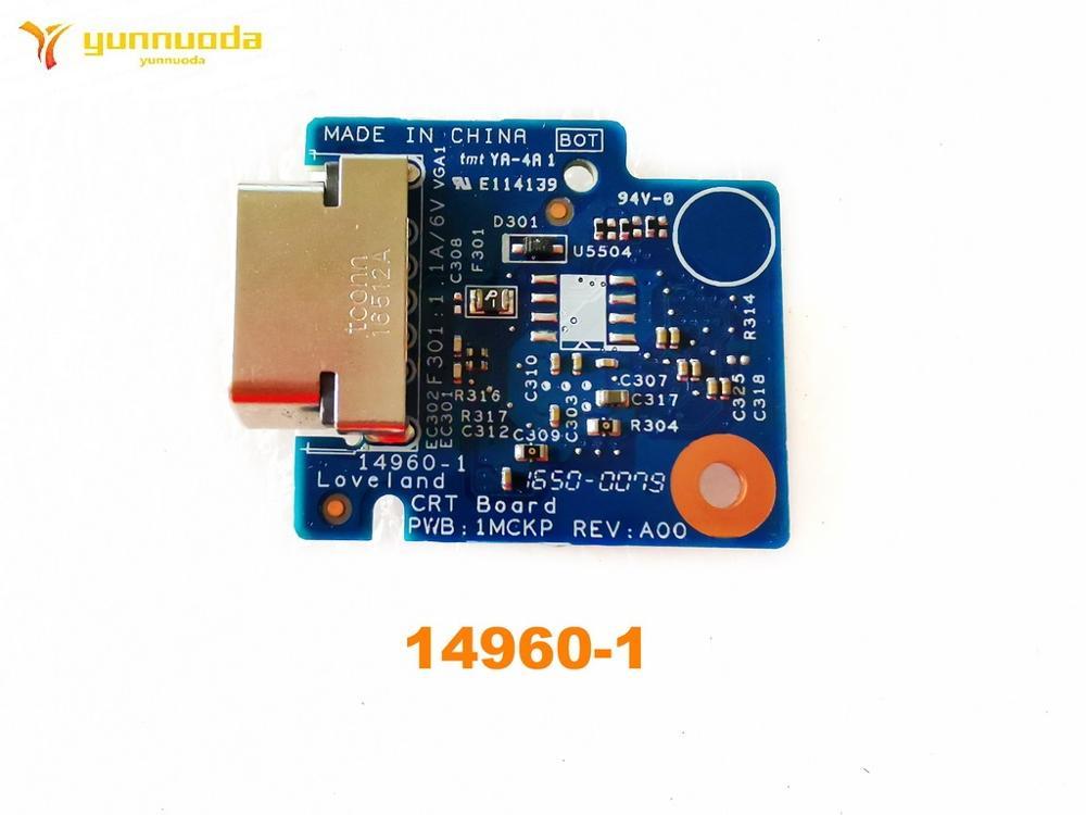 لوحة Loverland CRT الأصلية لجهاز DELL Latitude 3470 ، اختبار 14960-1 ، شحن مجاني جيد