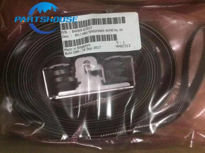 """Nuevas piezas de servicio originales cinturón y tensor con Metal 54 """"B4H69-67013 para HP Latex L310 L315 cinturón genuino y decenas de impresora"""