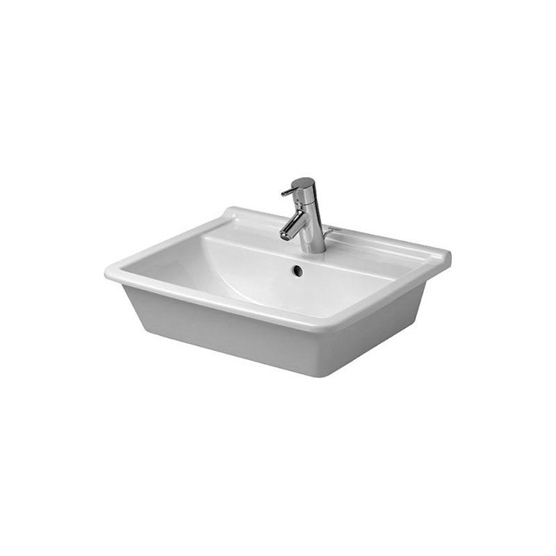 Duravit Duravit bassin plate-forme Starck3 Semi-encastré Inter-plate-forme bassin lavabo domestique 030256