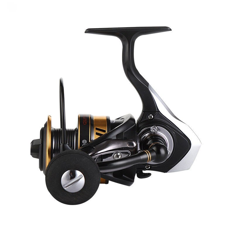 Chegam novas carretel de pesca molinete de metal 13 + 1 rolamentos de esferas carpa voar roda de peixes XG1000-7000 todo-metálico lidar com mar enfrentar