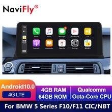 "12.3 ""1920*720 Android 10 Auto DVD GPS-Player Für BMW 5 Series F10 F11 (2011-2016) CIC/NBT Auto Radio Multimedia Navigation 520i"