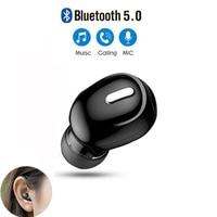 X9 мини беспроводные Bluetooth 5,0 наушники-вкладыши спортивные с микрофоном гарнитура для режима «свободные руки» наушники-вкладыши для Samsung Huawei ...