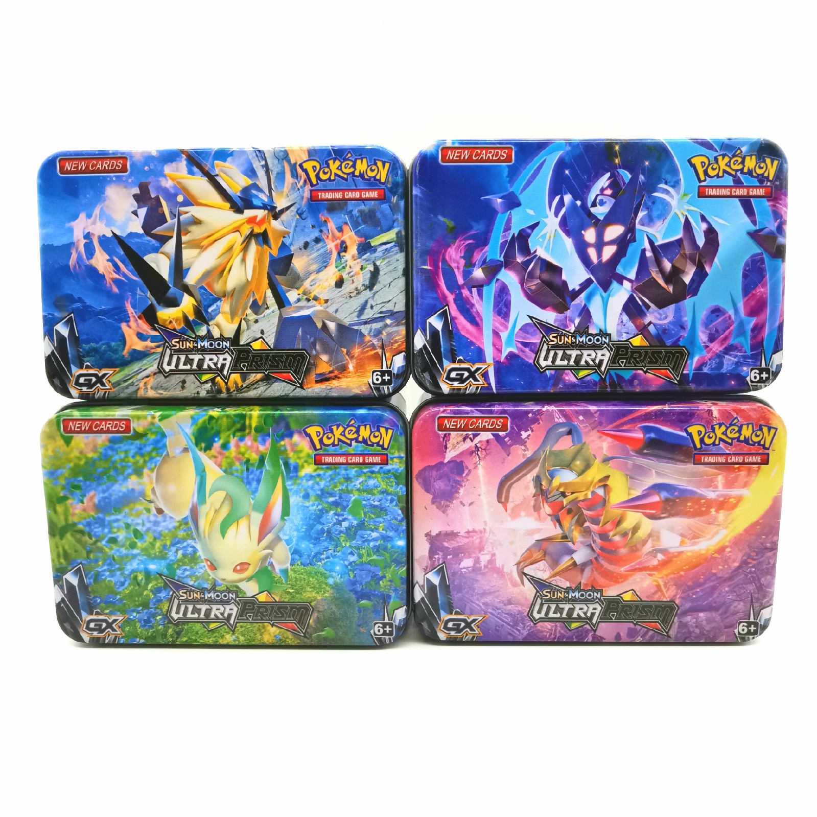 42pcs/set Iron Box Pokemon TAKARA TOMY Battle Toys Hobbies Hobby Collectibles Game Collection Anime Cards for Children