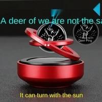 car decoration net celebrity magnetic levitation solar aromatherapy car interior decoration supplies daquan high end perfume