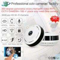 360 Degree Camera Home Security IP Camera 960P Smart Panorama IPC P2P Wireless Fisheye Lens CCTV Wifi Camera Baby Monitor