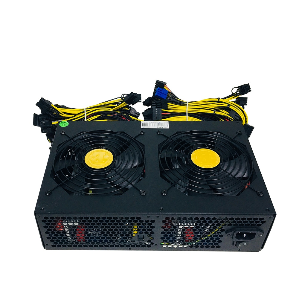 3600W ATX PSU Power Supply Bitcoin Miners psu PC Power Supply 12 card Miner mining rig 170-240V pico psu BTC ETC Power Mining enlarge