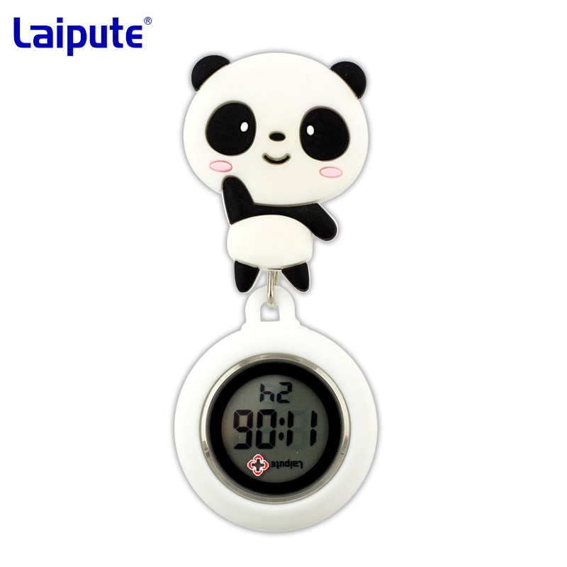 Часы для медсестер на заказ, милые Электронные Водонепроницаемые мужские и женские часы с цифровым дисплеем для медсестер, нагрудные часы