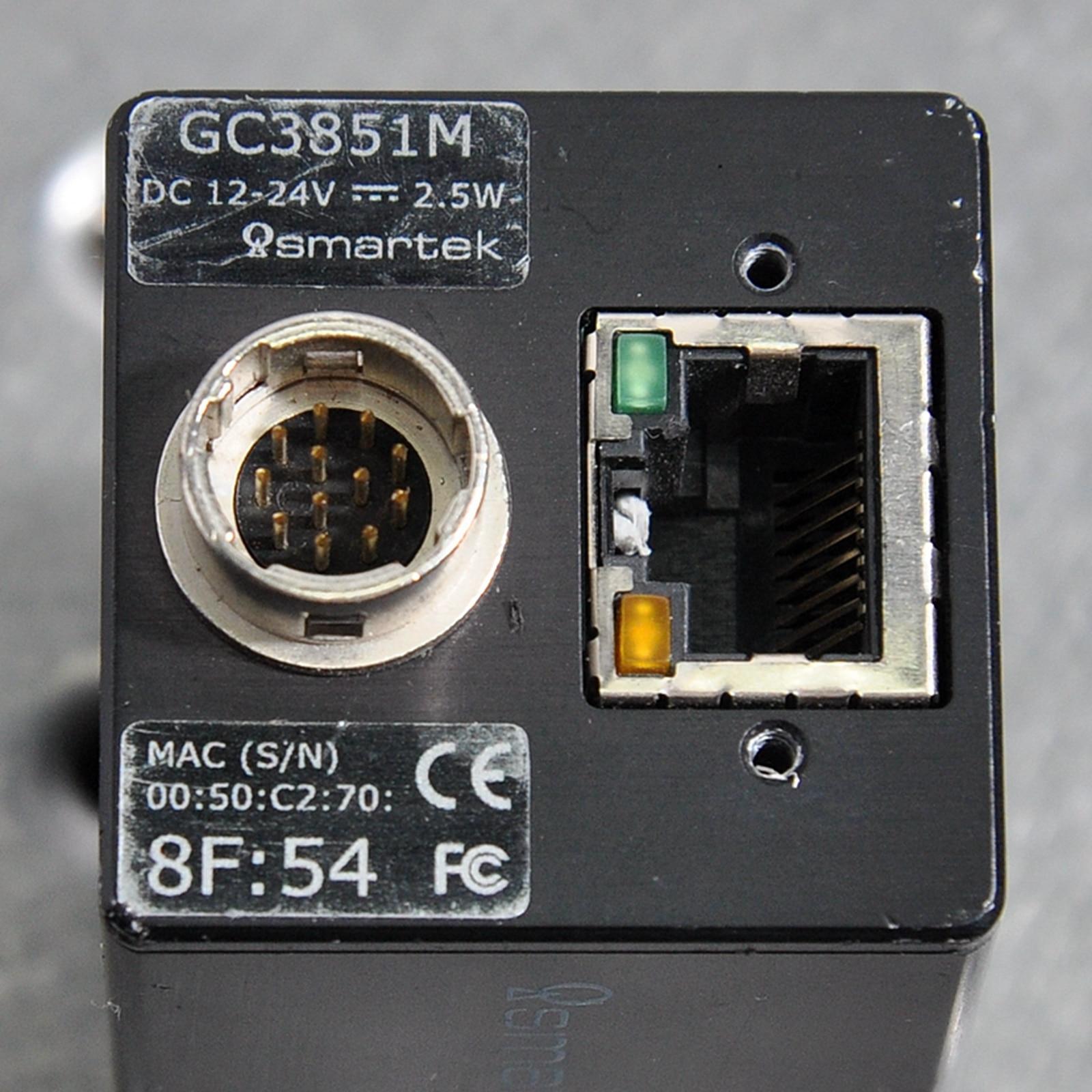 Smartek Vision GC3851M IndustrialCamera CCD Network Port enlarge